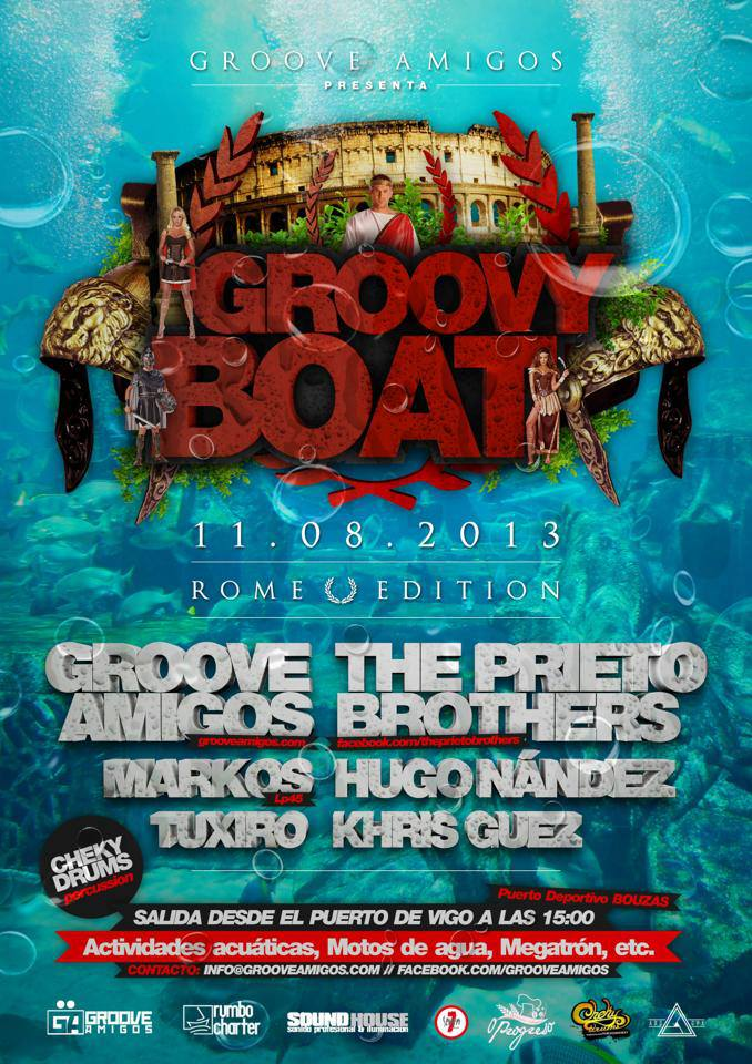 Groove Boat 2013 - Rome Edition